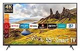 Telefunken XU55K521 55 Zoll Fernseher (Smart TV...
