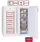 Amica Gefrierschrank Weiß Tiefkühltruhe A++ 155...